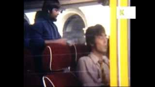 1960s The Beatles Rare Home Movie Footage, Magical Mystery Tour