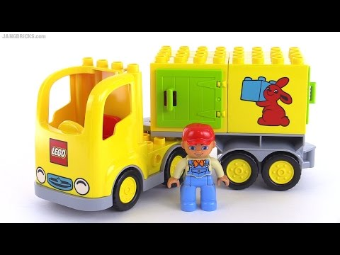 Official 2015 LEGO Duplo Truck reviewed! set 10601