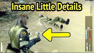 Insane Little Details in MGS: Peace Walker (PS Vita 30FPS)