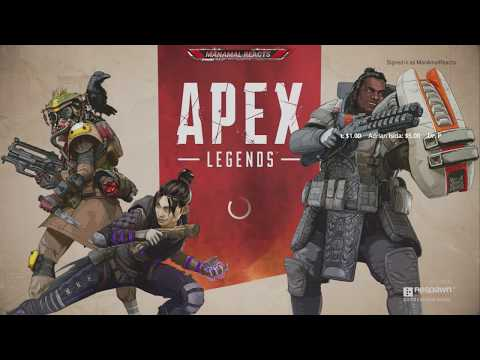 APEX LEGENDS FIRST TIME GAMEPLAY (#1) ON XBOX ONE X