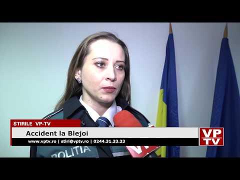 Accident la Blejoi