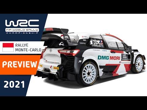 WRC(世界ラリー選手権)2021年の開幕戦のラリーモンテカルロのプレビュークリップ動画