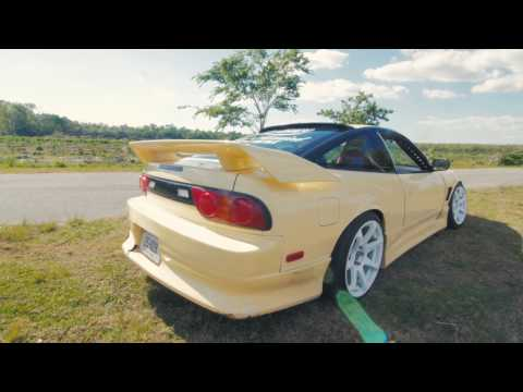 Adam LZ Nissan 240sx Review - Boost and BMX!