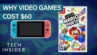 Why Most New Video Games Cost $60