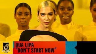 "Dua Lipa ""Don't Start Now"" En Vivo | MTV EMA 2019"