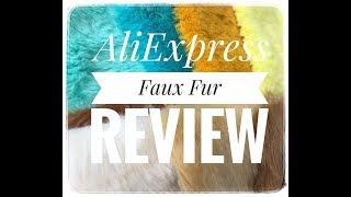 AliExpress Faux Fur Review