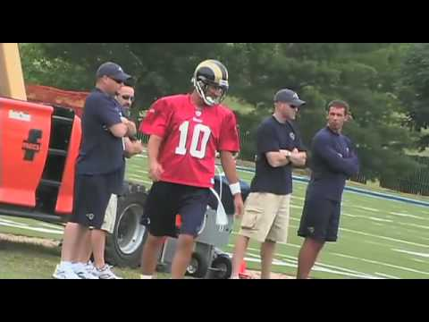 Rams Quarterback Marc Bulger Training Camp Interview