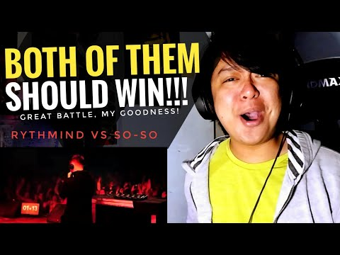 REACTION   RYTHMIND vs SO-SO   Grand Beatbox Battle 2019   LOOPSTATION Semi Final