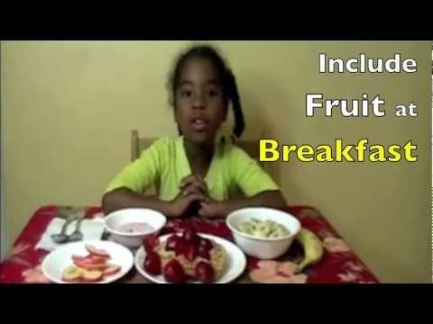 Half Your Plate (Fruits and Vegetables Song)
