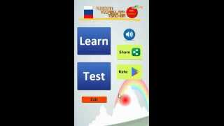 Learn Russian Vocabulary Android App Promo Video