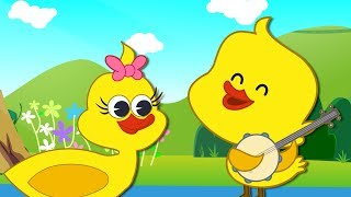 Five Little Ducks | Nursery Rhymes &  Numbers Songs | 82 Mins Compilation by HooplaKidz