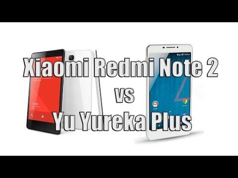 Xiaomi Redmi Note 2 vs Yu Yureka Plus - Comparison