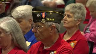 Governor Greg Abbott delivers remarks at Texas Department of Veterans of Foreign Wars Conference