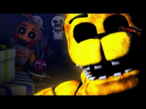 The HIDDEN Toy Animatronics ATTACK! || One Night at Freddys 2 (Five Nights at Freddys)