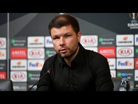 Пресс-конференция после матча «Краснодар» - «Стандарт» (Бельгия) видео