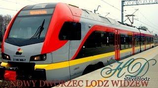 preview picture of video 'NOWY DWORZEC ŁÓDŹ WIDZEW - Cała budowa od 2013 - 2014'
