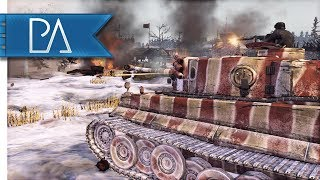 ESCAPING THE JAWS OF DEFEAT  - 4v4 Multiplayer - Company of Heroes 2