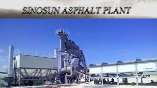 Мобильный асфальтобетонный завод SINOSAN МАР 2000 (160 т/ч) от компании Строительное Оборудование - видео 2