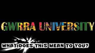 What is GWRRA University?