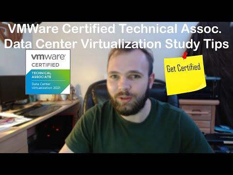 VCTA-DCV (2021) (1V0-21.20) Study Tips - YouTube