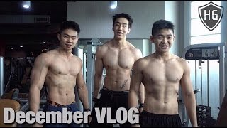 DECEMBER VLOG + Shoulder Workout