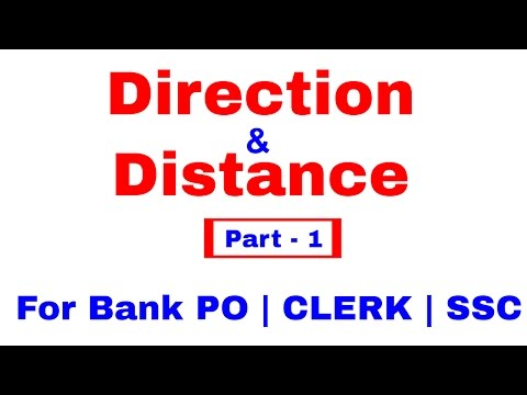 Directions Reasoning Tricks For Bank PO | Clerk | SSC [In Hindi] (видео)