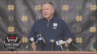 Brian Kelly: I would vote to expand College Football Playoff | College Football Sound