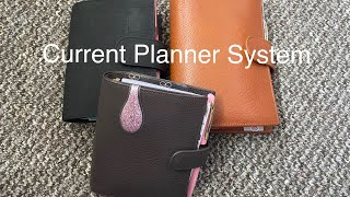 Current Planner System / Gillio Pocket XL, Pocket Mia Cara and Medium Compagna // Pink Planner Girl