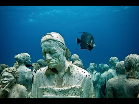 Underwater Museum, Isla Mujeres, Cancun, Mexico 2014 GoPro 3+ HD