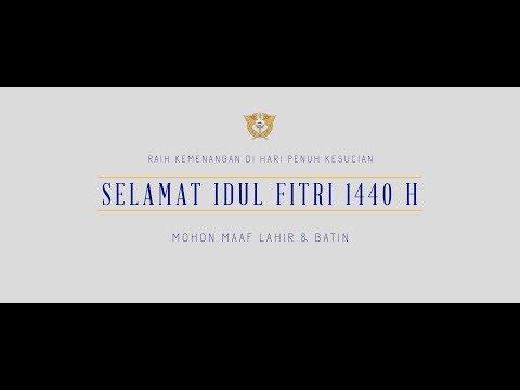 Selamat Idul Fitri 1440 Hijriah