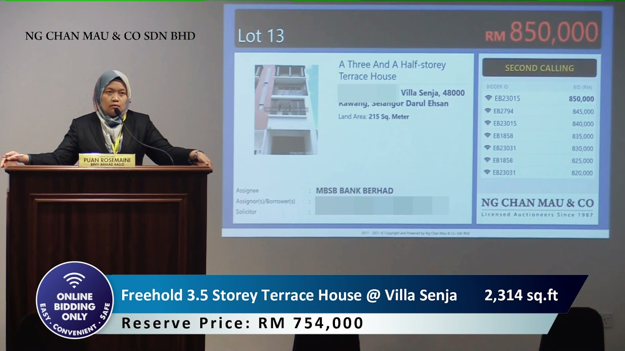 [SOLD RM855k only] 3.5 Storey Terrace House with private swimming pool + private lift @ Villa Senja