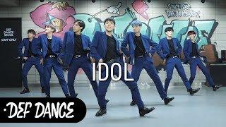 BTS(방탄소년단) - IDOL(아이돌) 댄스학원 No.1 KPOP DANCE COVER / 데프수강생 월말평가 가수오디션 defdance