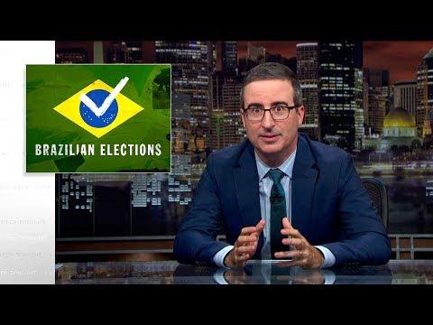 Brazilské volby - Last Week Tonight