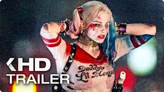 Suicide Squad ALL Trailer & Clips 2016