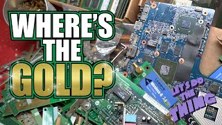 Where Is The Gold Inside A Computer? - How To Find Precious Metals In Electronics