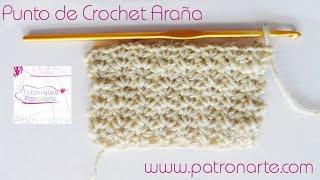 Punto Araña de Crochet