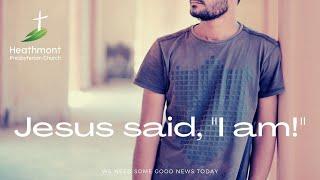 """Jesus said, """"I am."""" Mark 14:61-62"""