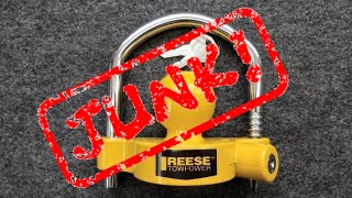 (1026) Review: Reese TowPower Hitch Lock (JUNK!)