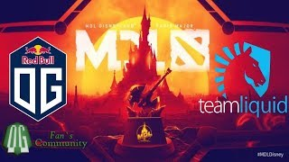 OG vs Liquid - Game 1 - MDL Disneyland Paris Major - Europe Closed Qualifier.