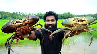 5 Kg BIG SIZE CRAB ROAST MAKING | COOKING SKILL M4 TECH |