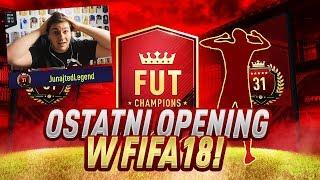 PACZKI ZA TOP 100 WEEKENDOWE - OSTATNI PACK OPENING W FIFA 18!