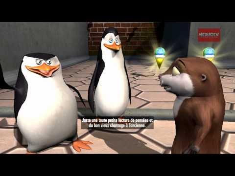 Les pingouins de Madagascar Wii U
