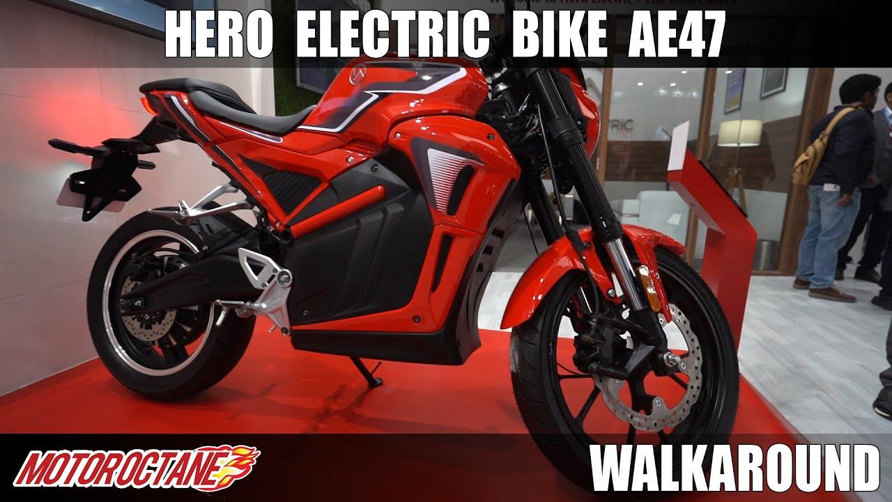 Motoroctane Youtube Video - Hero Electric Bike AE47 | Auto Expo 2020 | Hindi | Motoroctane