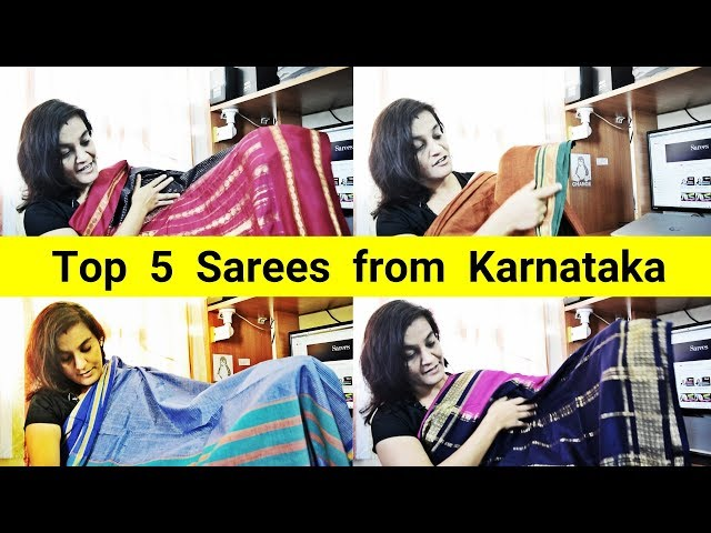 57 Top 5 Sarees from Karnataka || Sarees are my passion