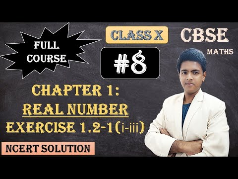 CBSE Full Course | 1 - Real Numbers | Exercise 1.2 : 1.Express each number as a product of its prime factors: (i)140 (ii) 156 (iii) 3825