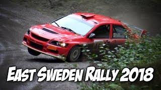 2018-09-07/08 - East Sweden Rally - SS 2, 6 & 10 - Avåk, Kriser och häftig bilåka!