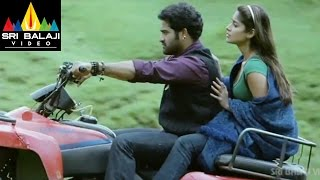 Shakti Movie JrNTR Action Scene In Kashmir  JrNTR Ileana Sonu Sood  Sri Balaji Video