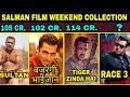 Can Race 3 make 100 Crore Box Office Weekend Collection  Sultan, Tiger Zinda Hai, Bajrangi Bhaijaan