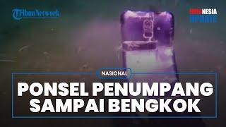 Video Bawah Laut Detik-detik Ponsel Milik Penumpang Sriwijaya Air Ditemukan, Kondisinya Bengkok