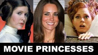 Принц Уильям и Кэтрин Миддлтон, Royal Wedding 2011: Movie Princesses